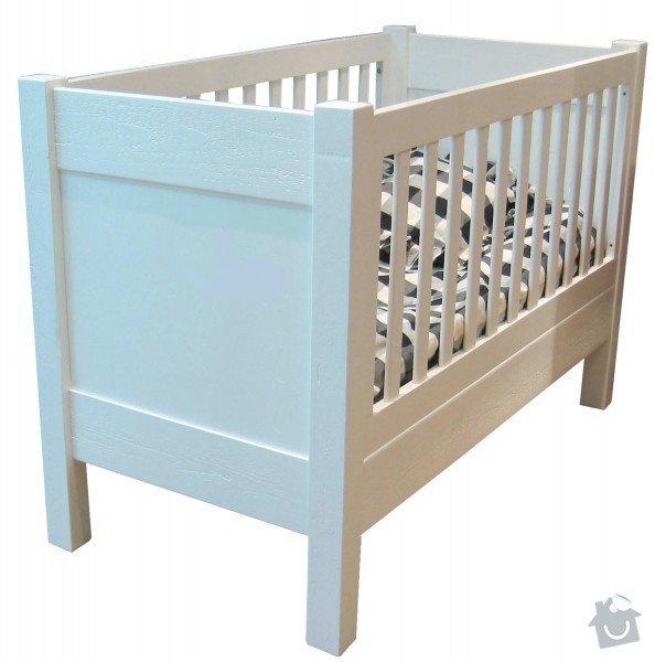 Výroba 2 kusů nábytku do dětského pokojíčku: postylka_3