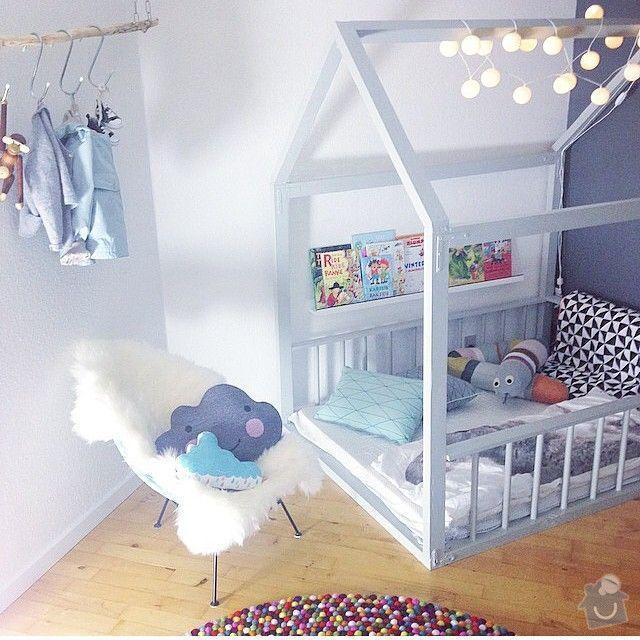 Výroba 2 kusů nábytku do dětského pokojíčku: postylka_domecek_3