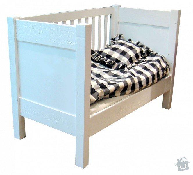 Výroba 2 kusů nábytku do dětského pokojíčku: postylka2