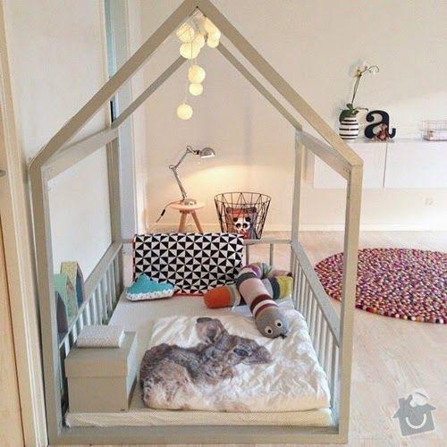 Výroba 2 kusů nábytku do dětského pokojíčku: postylka_domecek_2