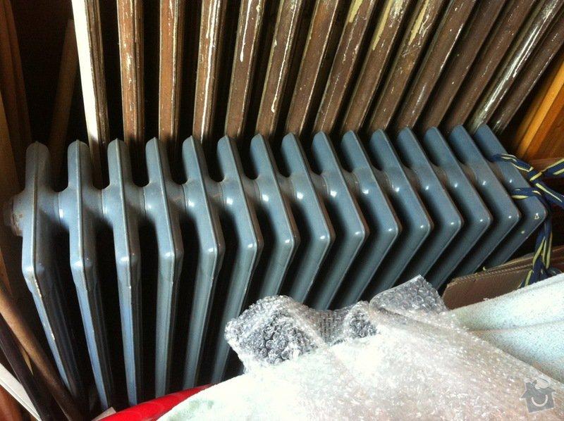 Renovace litinových radiátorů: IMG_3889
