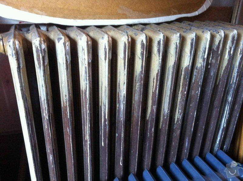 Renovace litinových radiátorů: IMG_3886