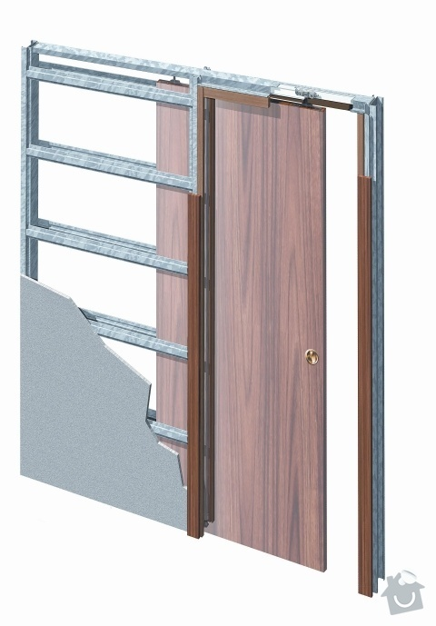 Rekonstrukce koupelnového jádra: stavebni-pouzdro-jednokridle-do-sadrokartonu-original