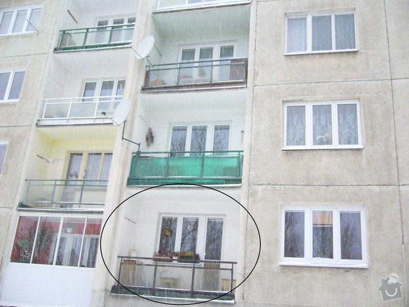 Zasklení balkonu: P1030099