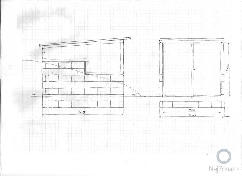 Zastřešení zahradního domku: 003