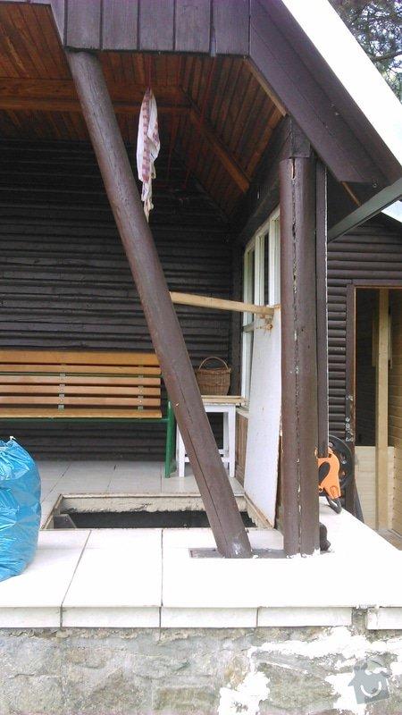 Oprava verandy na chatě: DSC_0146