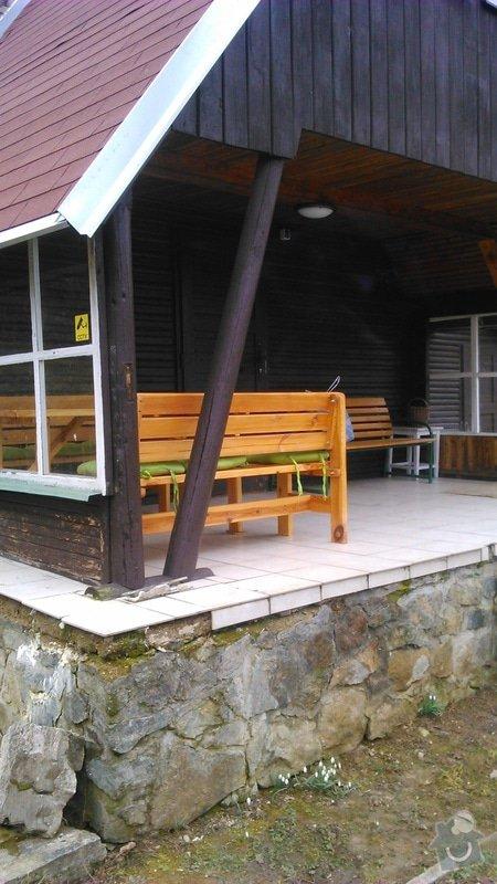 Oprava verandy na chatě: DSC_0473