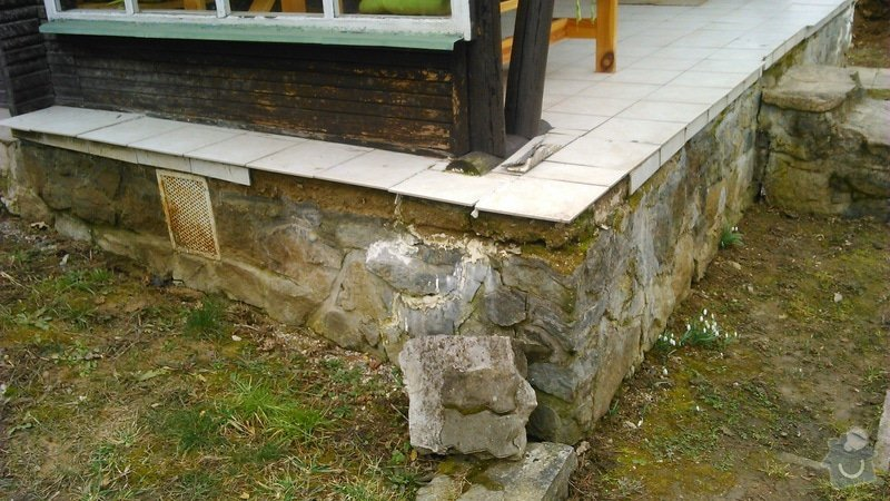 Oprava verandy na chatě: DSC_0472