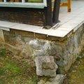 Oprava verandy na chate dsc 0472