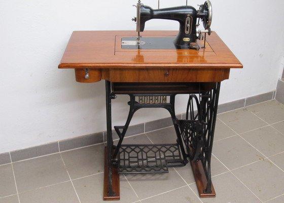 Renovace šicího stroje