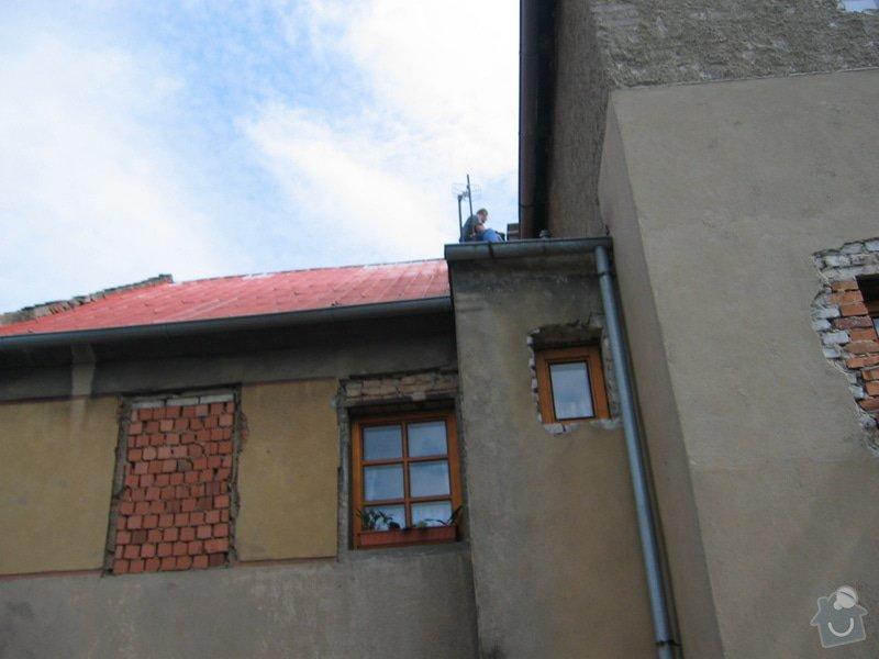 Rekonstrukce střechy a štítů a okapů rodinného domu: IMG_2800
