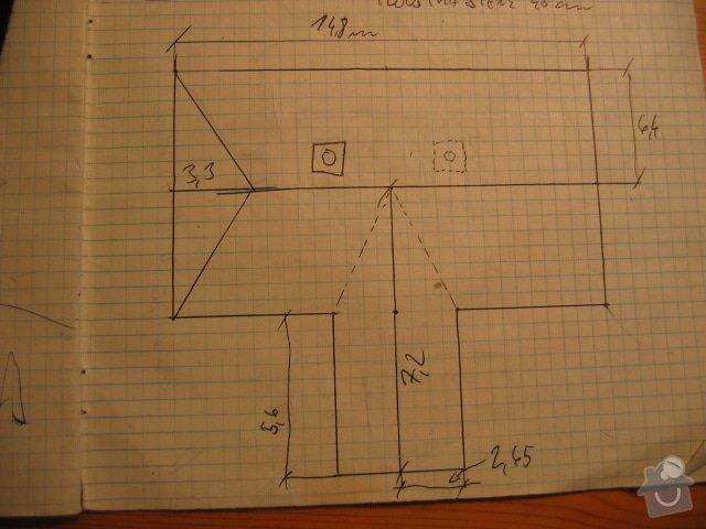 Rekonstrukce střechy a štítů a okapů rodinného domu: IMG_5034