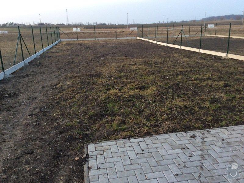 Vybetonování základů pro zahradní domek 3x3m: image
