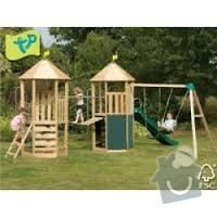 Výroba dětského hřiště na zahradu: hriste_hrad