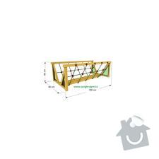 Výroba dětského hřiště na zahradu: mustek