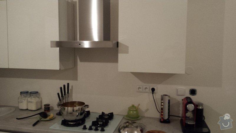 Obložení kuchyňské linky kachlíky: 20140918_203452