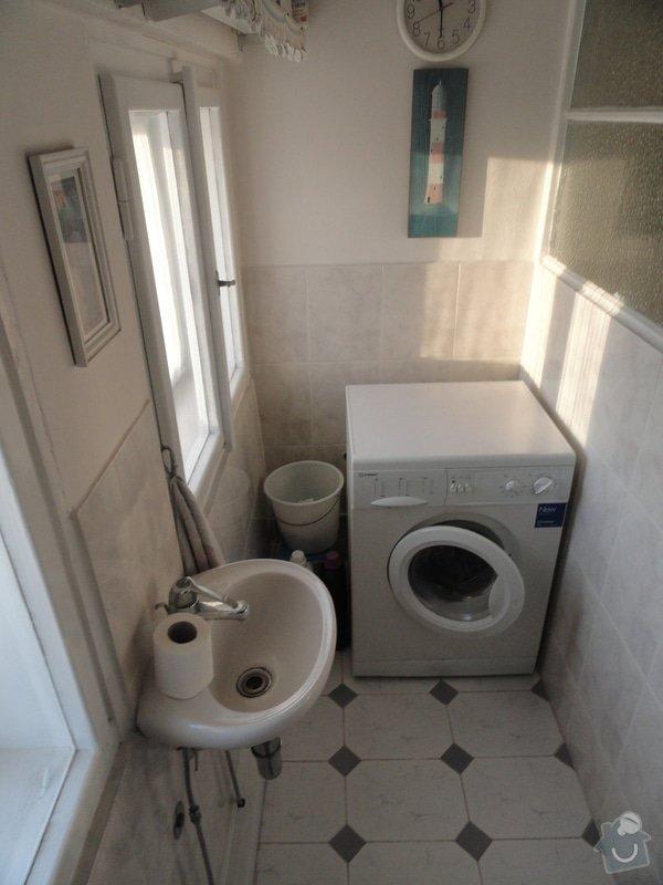 Rekonstrukce koupelny a WC: DSC04297