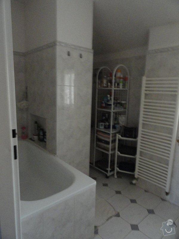 Rekonstrukce koupelny a WC: DSC04299