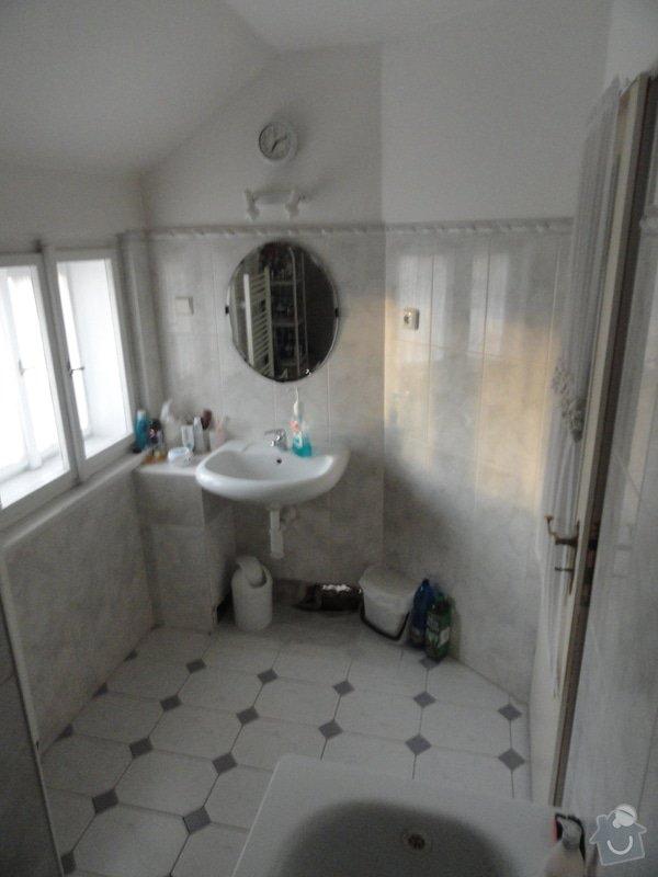 Rekonstrukce koupelny a WC: DSC04300