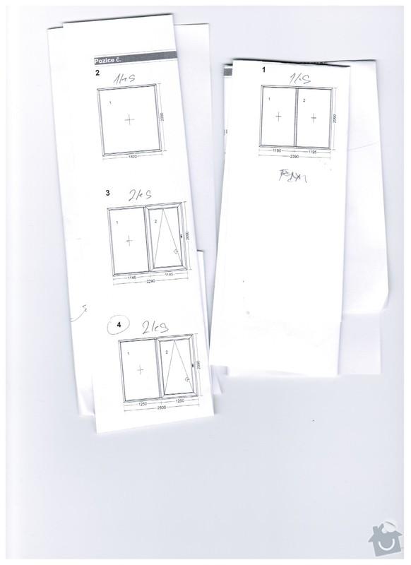 Dodání a montáž oken: okna
