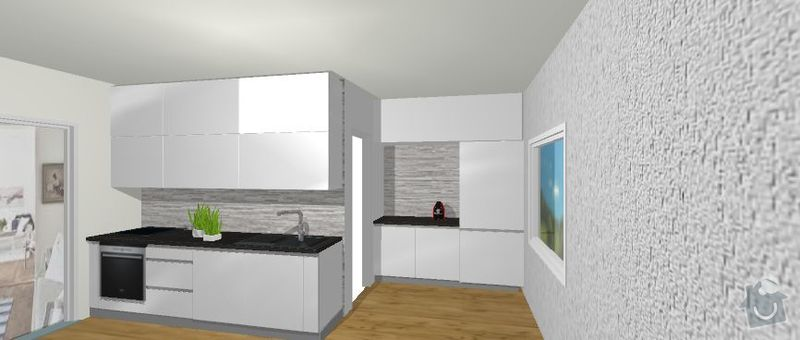 Výroba kuchyně: Navrh2