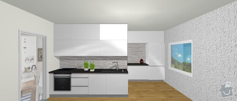 Výroba kuchyně: Navrh3