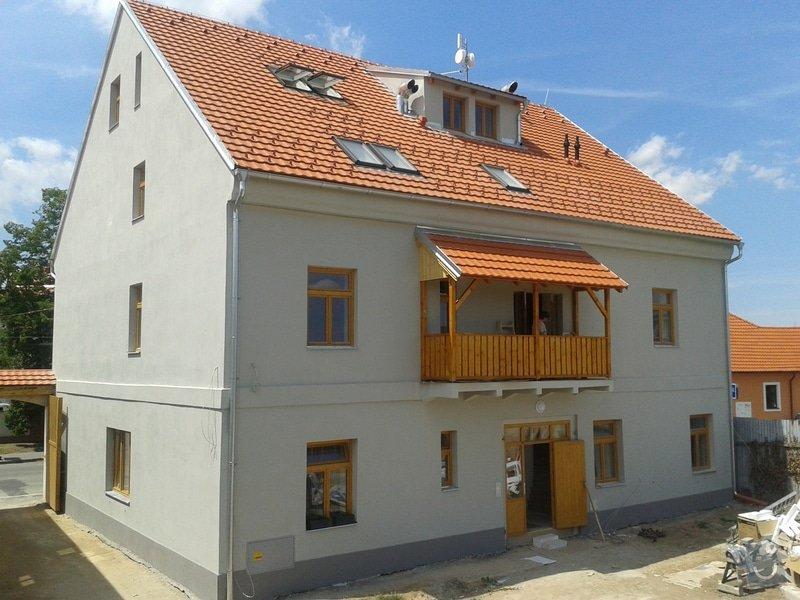 Rekonstrukce bytového domu: 20140703_133920