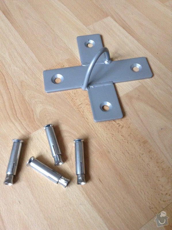 Navrtanie kovových šrúb a hmoždiniek do stropu: image