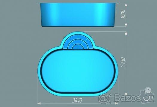 Poptávám komponenty na výrobu zastřešení bazénu  svépomocí : 46017900