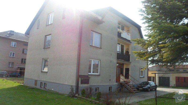 Zateplení bytového domu: SAM_5688