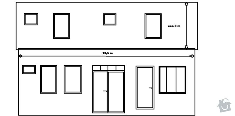 Rekonstrukce sedlové střechy: Strecha_Kame.
