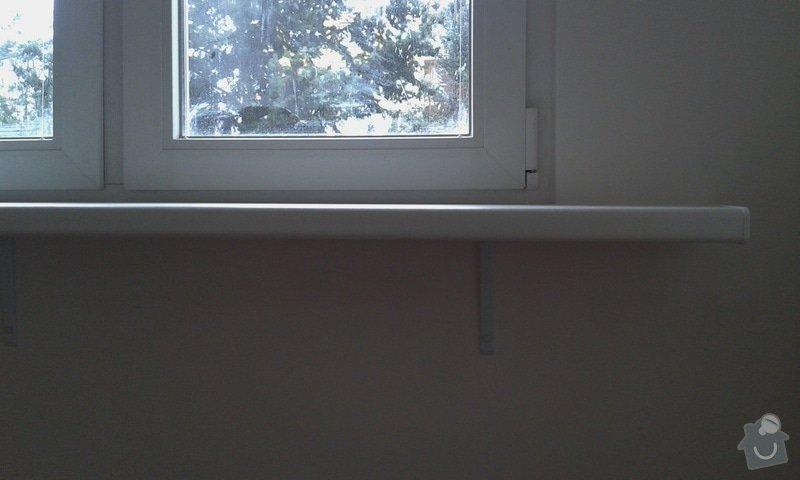 Štuky a vymalování v panelovém bytě: 03