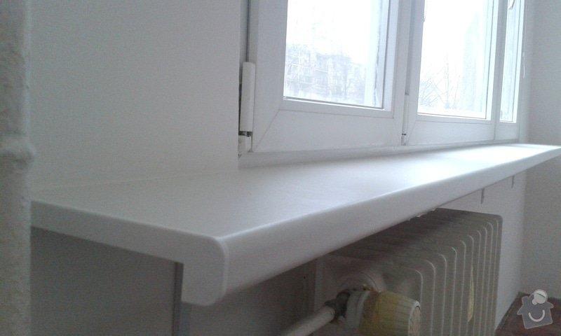Štuky a vymalování v panelovém bytě: 04