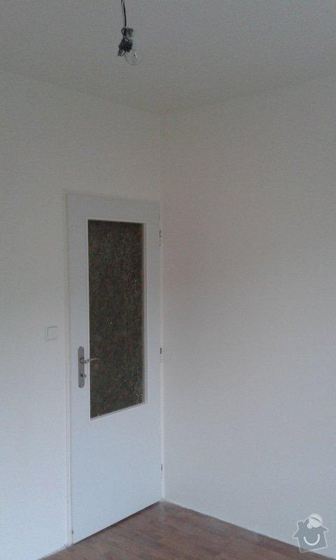 Štuky a vymalování v panelovém bytě: 08