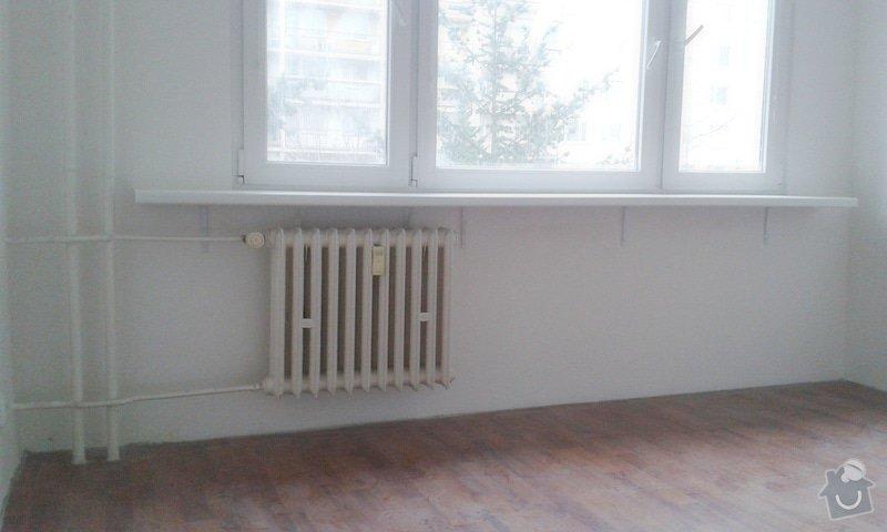 Štuky a vymalování v panelovém bytě: 13