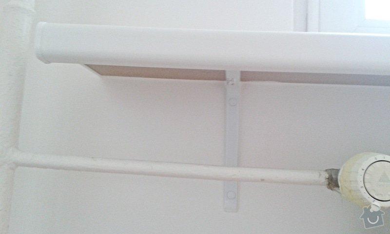 Štuky a vymalování v panelovém bytě: 14