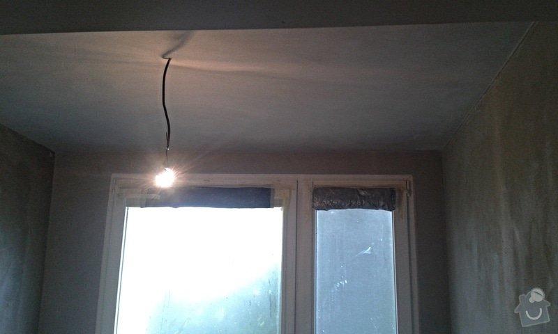Štuky a vymalování v panelovém bytě: 16