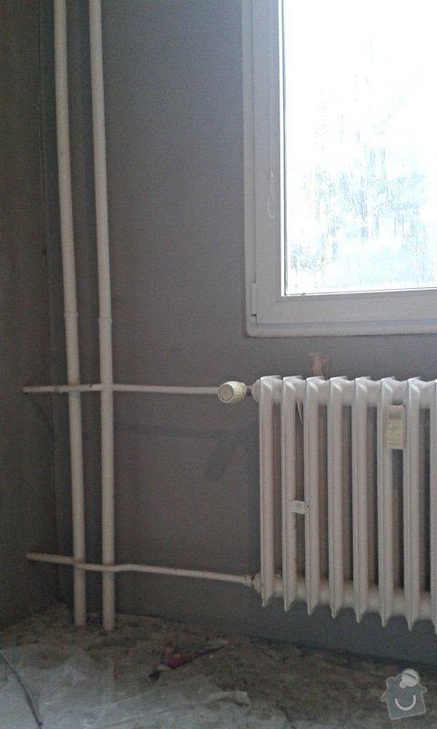 Štuky a vymalování v panelovém bytě: 17