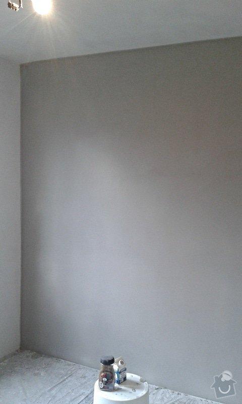 Štuky a vymalování v panelovém bytě: 18