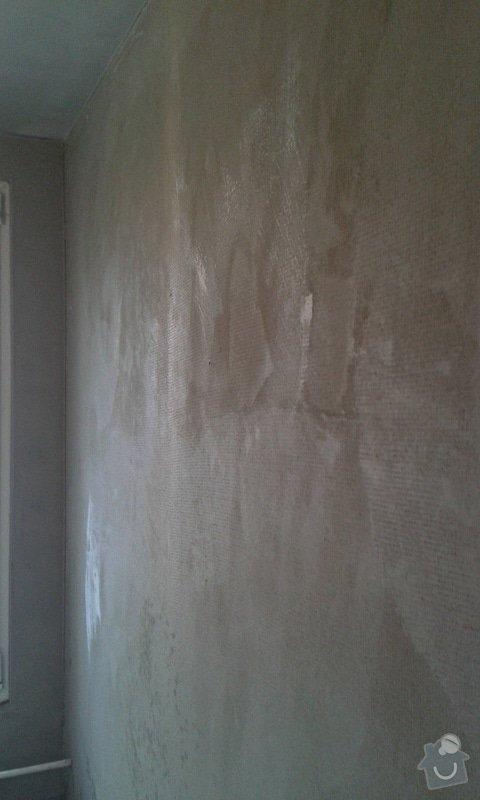 Štuky a vymalování v panelovém bytě: 19