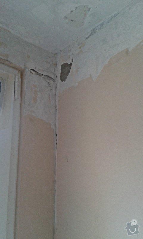 Štuky a vymalování v panelovém bytě: 21