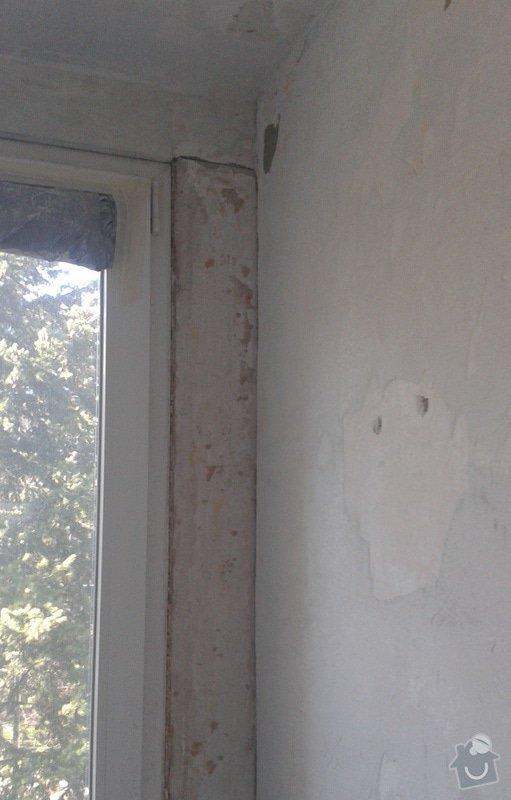 Štuky a vymalování v panelovém bytě: 23