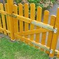 Montaz a dodavka nizkeho dreveneho plotu s brankou plot6