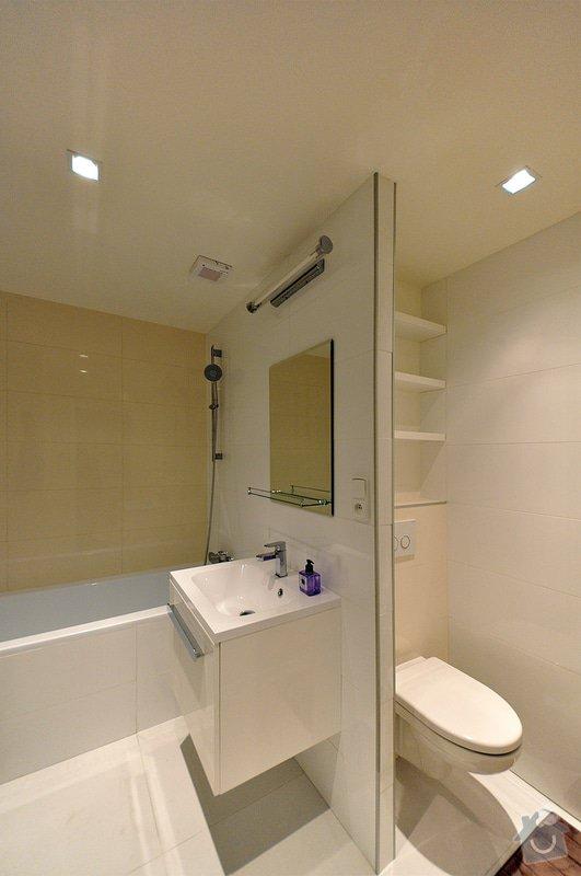 Rekonstrukce bytu - Libuš: Koupelna_01