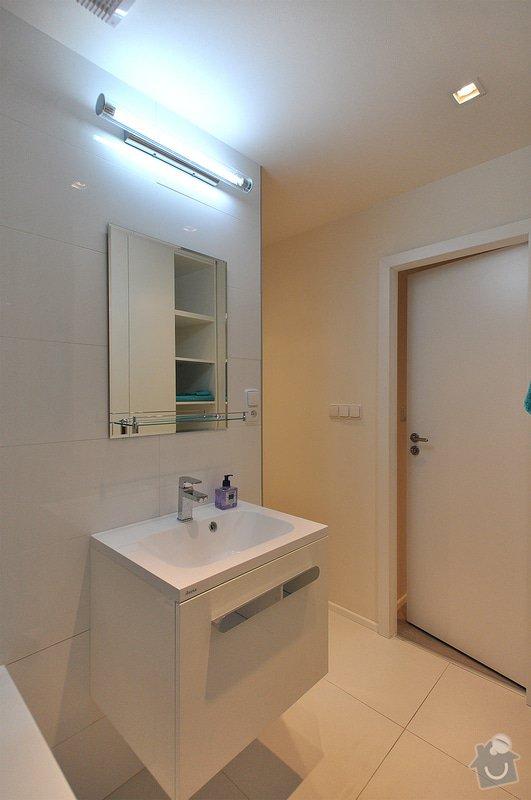 Rekonstrukce bytu - Libuš: Koupelna_02