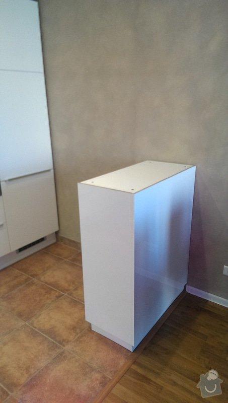 Dodání pracovní desky na barový kuchyňský ostrůvek: IMAG1142
