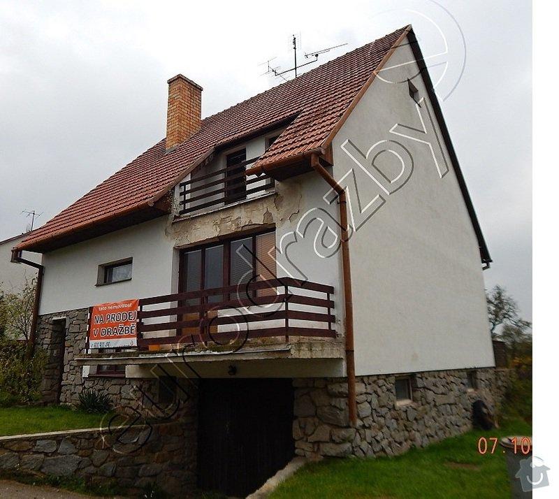 Zateplení fasády rodinného domu: Dum2