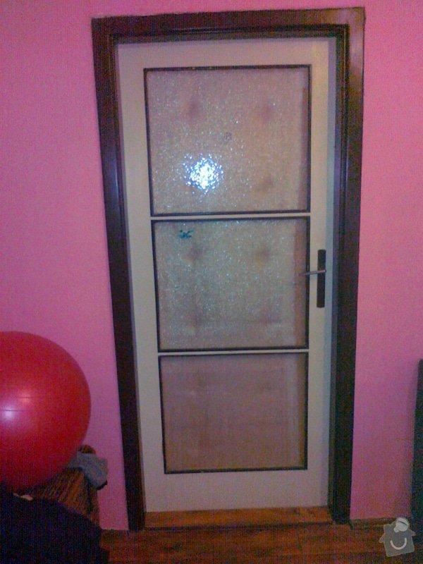 Repase prosklených dřevěných dveří: 16022015897