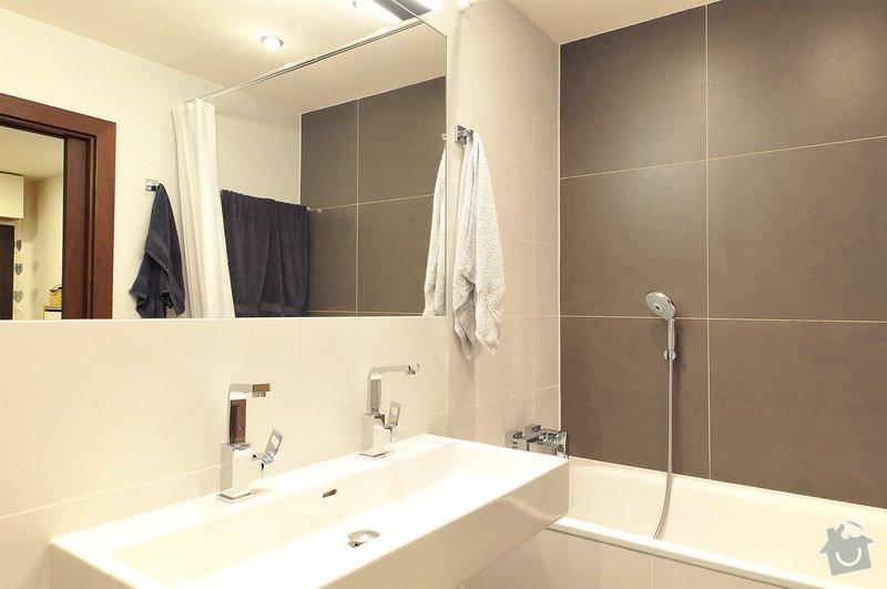 Rekonstrukce bytu - Praha 4: Koupelna_02