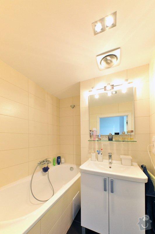 Rekonstrukce bytu - Strašnice: Koupelna_01